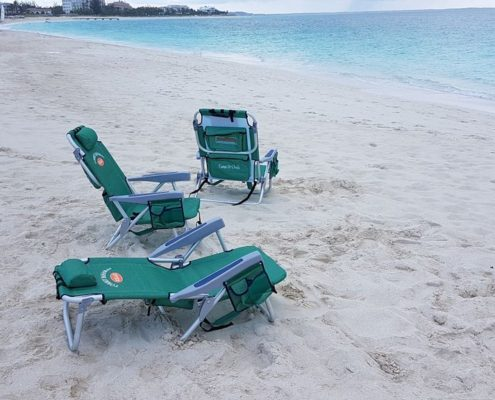 Beach Chairs available for use