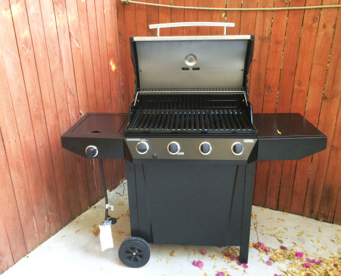 Gas Grill at ProvoVilla